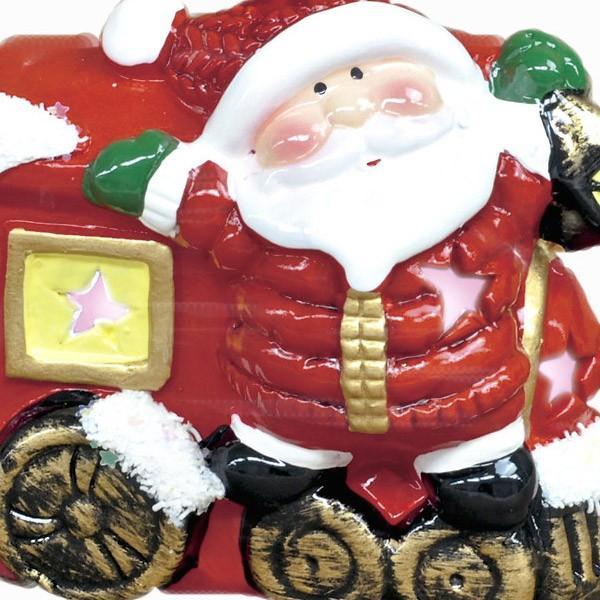 『クリスマス』陶器製LEDトレインライト/2種類|sshana|02