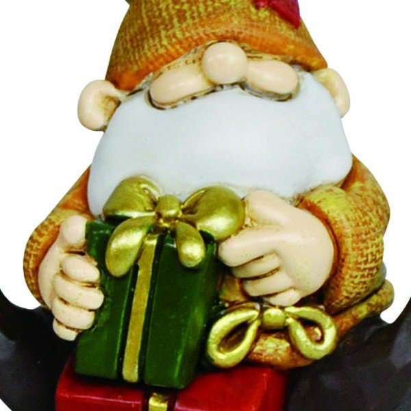 『クリスマス』レジン製の置物/プレゼントサンタ(アソート4Pセット) sshana 05