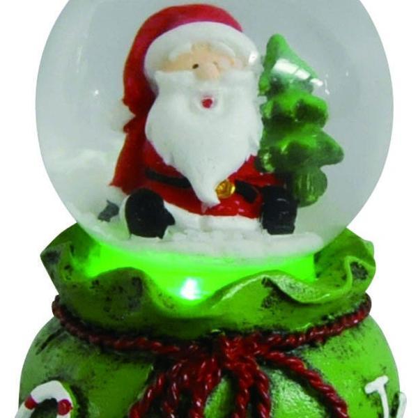 『クリスマス』LED付ウォータードーム(アソート6Pセット) sshana 02