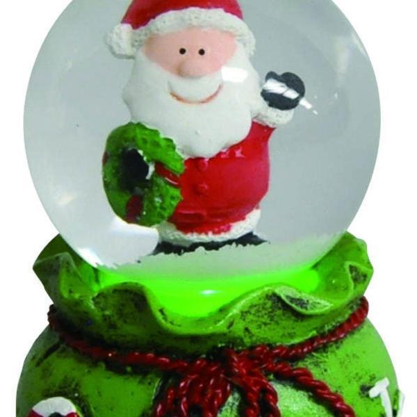 『クリスマス』LED付ウォータードーム(アソート6Pセット) sshana 03
