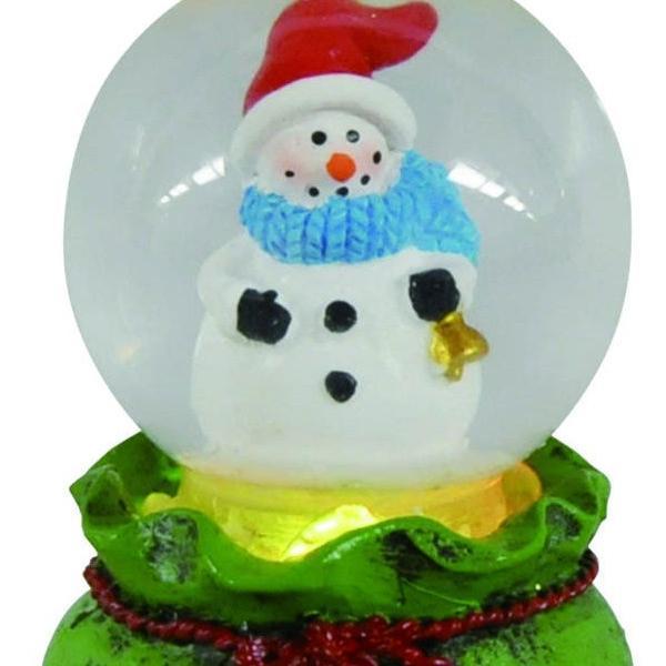 『クリスマス』LED付ウォータードーム(アソート6Pセット) sshana 05