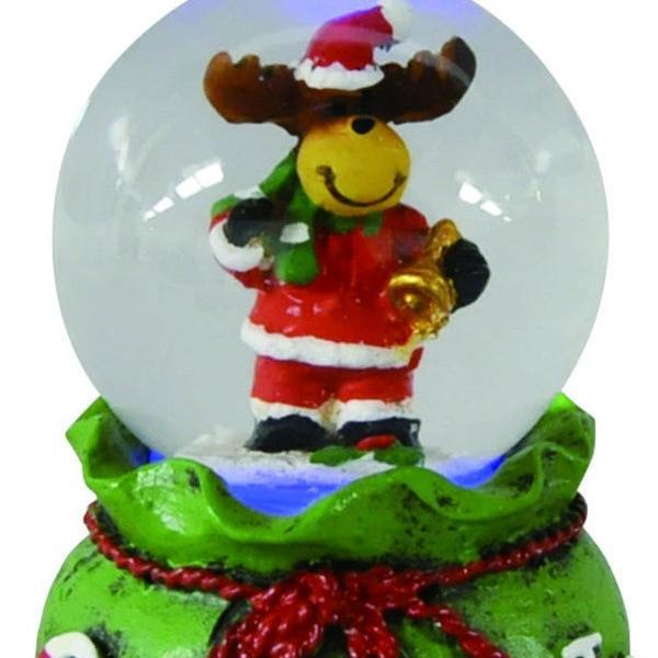 『クリスマス』LED付ウォータードーム(アソート6Pセット) sshana 06