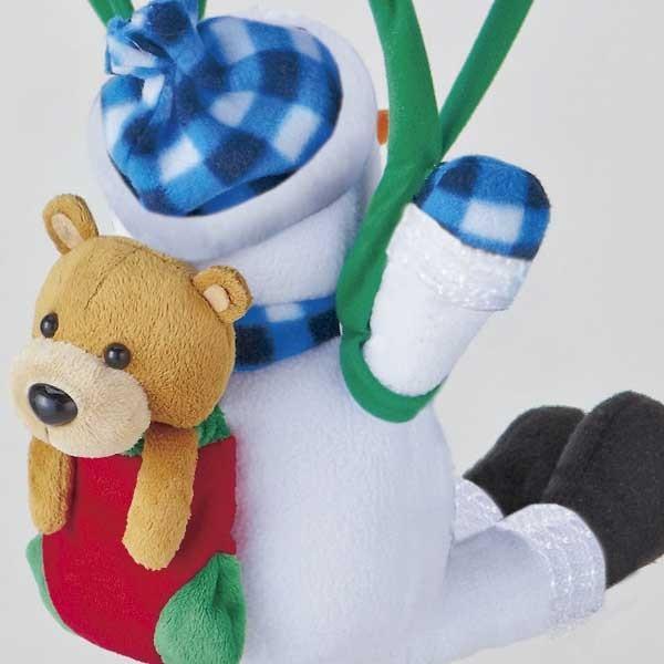 『クリスマス』音センサー式うきうきパラシュート(ロープウェイ)のおもちゃ/2種類|sshana|05