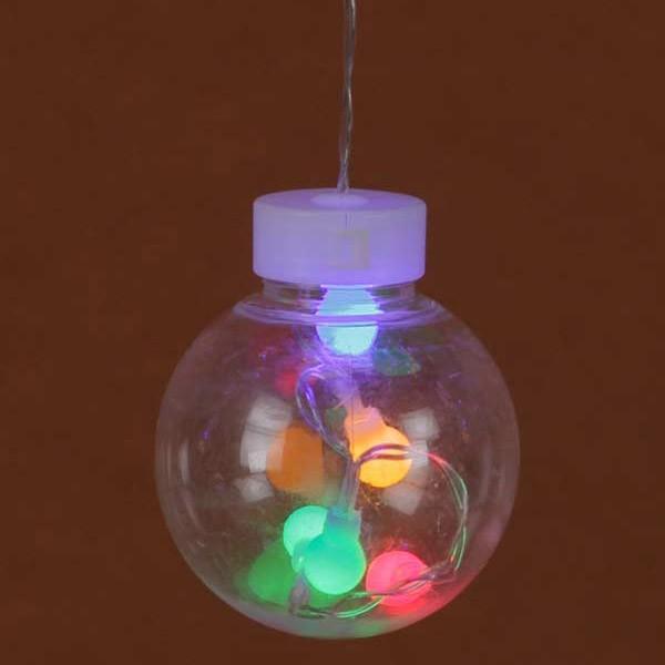 『クリスマス』LEDライトボールガーランド(リモコン付)/ミックス sshana 03