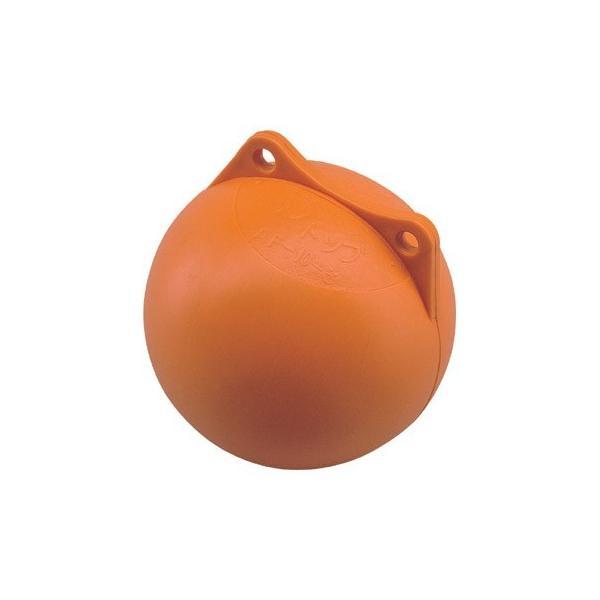 フロート ブイ オレンジ 丸ブイ 直径:18cm AF-6-3係船 アンカー係留 ボート用品 マリンスポーツ 船舶 用品 船具 海上標識 ウキ 浮き