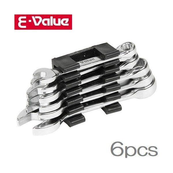 E-Value コンビレンチセット EMS-06SS スパナセット 工具セット ツールセット