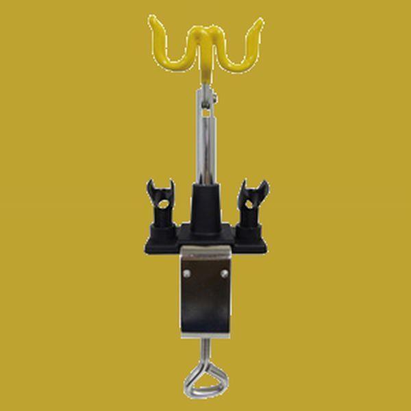 エアテックス エアブラシホルダー ロングタイプ AH03 エアーブラシアクセサリー
