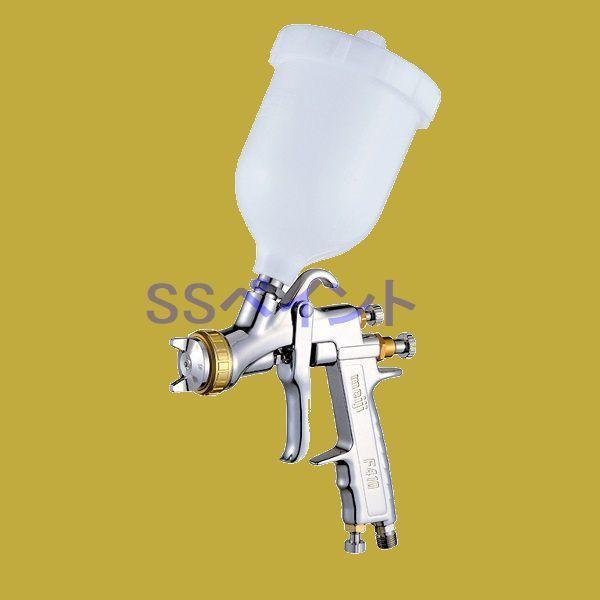 (K)明治(meiji)スプレーガン F410-G13SP 塗料カップ6CPセット  重力式 ノズル口径:1.3mm