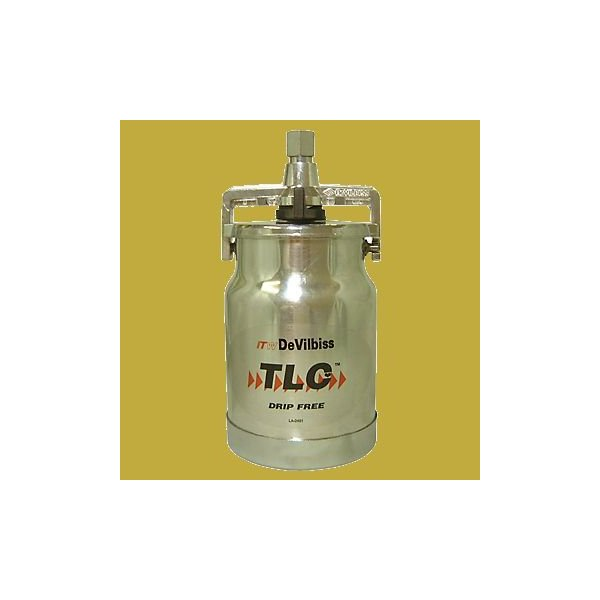 DEVILBISS デビルビス アルミ 塗料カップ  吸上式 TLC-555 1000cc  (内面フッ素樹脂コート)