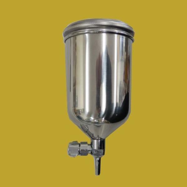 アネスト岩田(イワタ) フリーアングルアルミ塗料カップ  重力式(サイド) 400ml PC-400AB-2LF