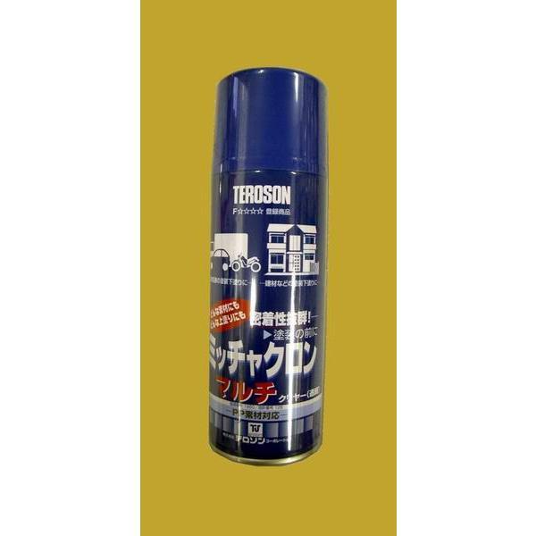 染めQテクノロジィ  密着剤 ミッチャクロン マルチ(本) 色:クリヤー(透明)  スプレー式(エアゾール式) 420ml