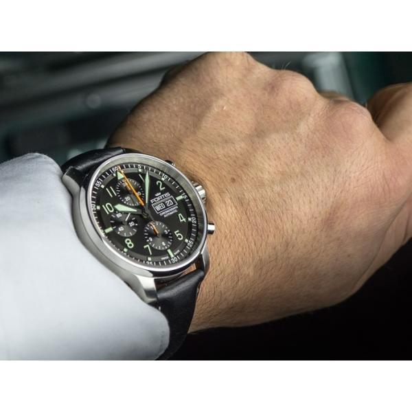 01fd86a904 ... フォルティス 腕時計 フリーガープロ クロノグラフ 705.21.11 国内正規品 ssshokai  ...