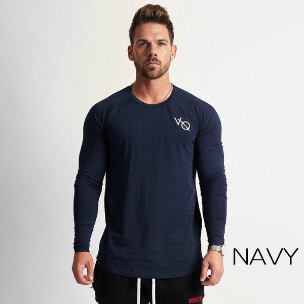 ヴァンキッシュ フィットネス VANQUISH FITNESS 長袖 Tシャツ ロングスリーブ ロンT メンズ 筋トレ ジム ウエア スポーツウェア イギリス 正規品[衣類]|ssshop|05
