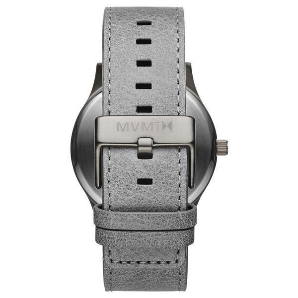 MVMT Watches エムブイエムティーウォッチ CLASSIC MONOCHROME カレンダー付 腕時計 革 レザーウォッチ メンズ クオーツ