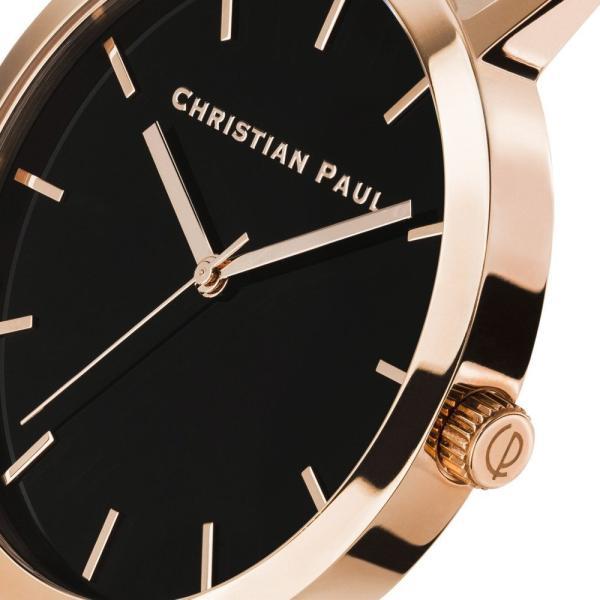 Christian Paul クリスチャンポール 43mm RAW ロウ レディース 腕時計 メッシュ ステンレス クオーツ ウォッチ