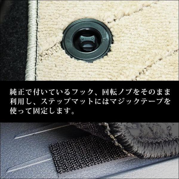 ヴォクシー ノア エスクァイア 80系 フロアマット VOXY NOAH Esquire セカンドステージ 日本製|sstage|04
