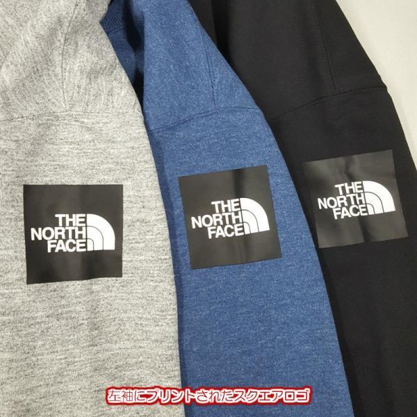 THE NORTH FACE ノースフェイス Square Logo Crew スクエアロゴクルー NT61931 st-king 04