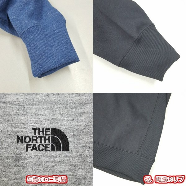 THE NORTH FACE ノースフェイス Square Logo Crew スクエアロゴクルー NT61931 st-king 06