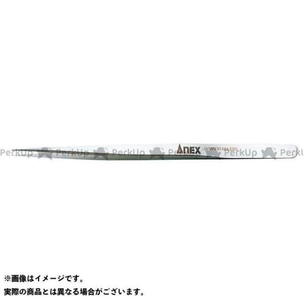 【無料雑誌付き】ANEX ハンドツール NO.206 高精度ステンレスピンセット長極細型140 アネックス