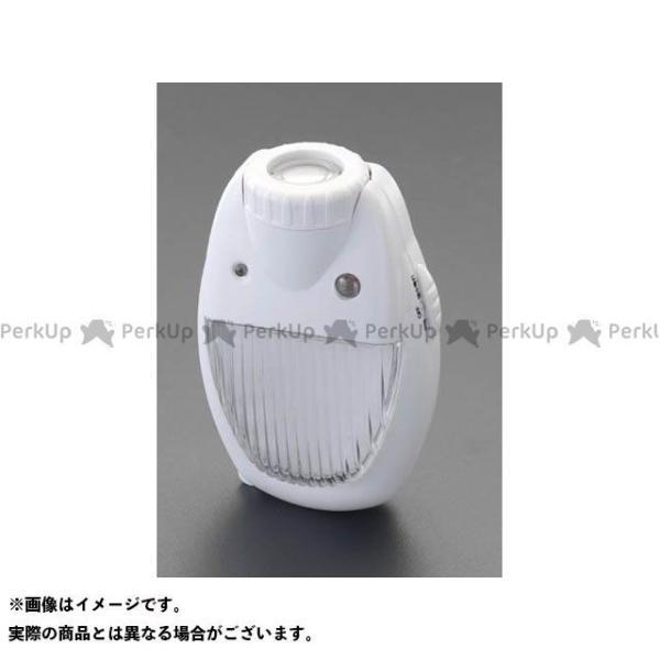 【雑誌付き】ESCO ハンドツール AC100V/3.5W LEDセンサーライト エスコ