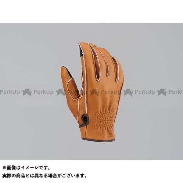 【無料雑誌付き】HenlyBegins レザーグローブ HBG-038 外縫いショートグローブ(チェスナット) サイズ:L ヘンリービギンズ