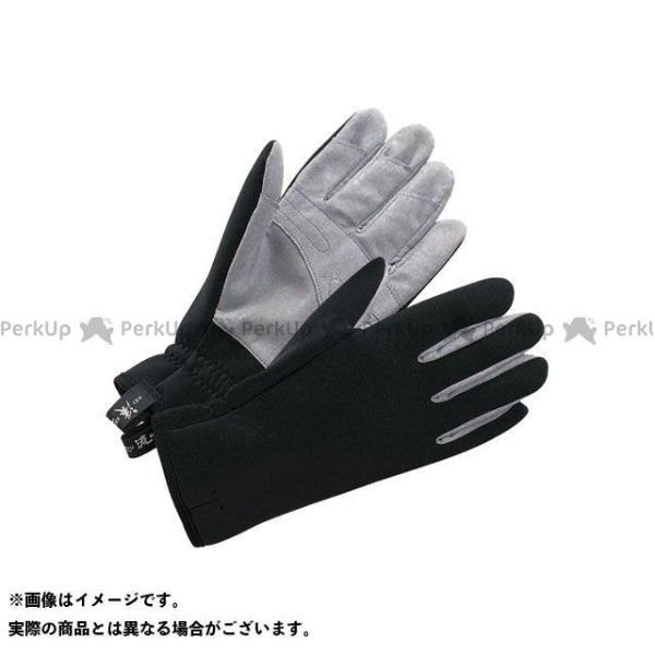 【無料雑誌付き】keiryu アウトドア用ウェア ケイリュウ グローブ 190ブラック サイズ:L/23.0cm 渓流