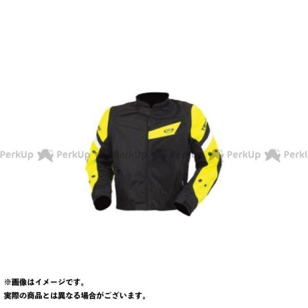 【無料雑誌付き】TEKNIC ジャケット アクアベントメッシュジャケット(ブラック/デイグローイエロー) サイズ:42 テクニーク