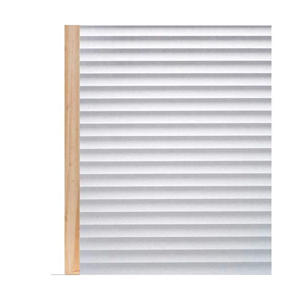 Homein窓ガラス目隠しシート44.5x200cm小窓適用遮光窓フィルム目隠し飛散防止uvカット紫外線対策水で貼るはがせる貼
