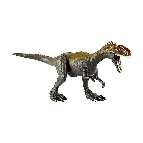 マテルジュラシックワールド(JURASSICWORLD)リアルミニアクションフィギュアモノロフォサウルス 全長:20cm  4歳