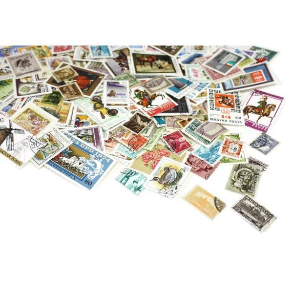 ハンガリー切手 2000種2000枚(重複なし)詰め合わせ|stamp-coin-ebisu