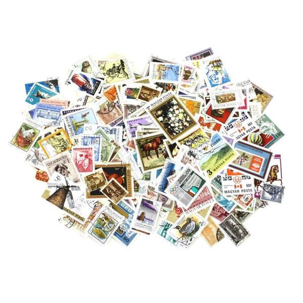ハンガリー切手 2000種2000枚(重複なし)詰め合わせ|stamp-coin-ebisu|02