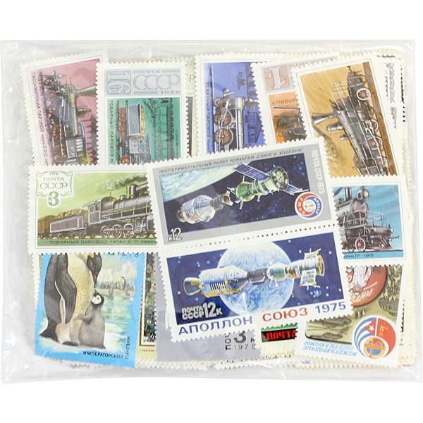 【未使用】ソビエト連邦切手 300種 300枚(重複なし)詰め合わせ(大型切手多数・美麗)|stamp-coin-ebisu