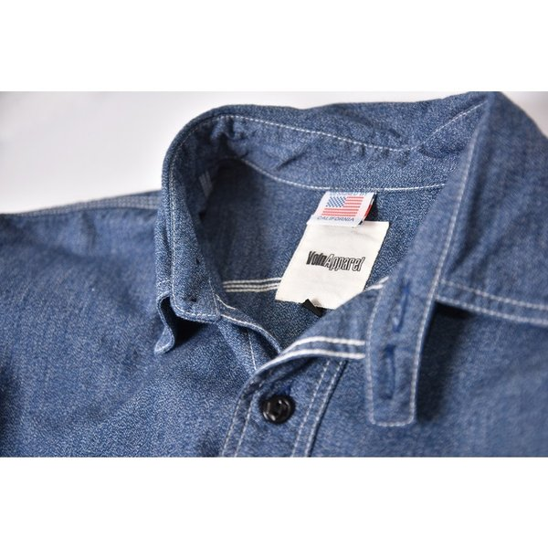 Classic Work Shirts Fether Indigo Blue|standardstore|02