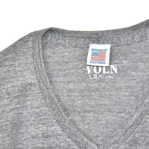 VOLN/RedFin /V Neck Tee /Heather Gray|standardstore|06