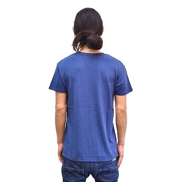 VOLN/RedFin /V Neck Tee /Heather Navy|standardstore|04