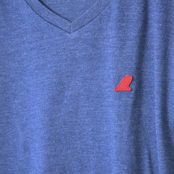 VOLN/RedFin /V Neck Tee /Heather Navy|standardstore|05
