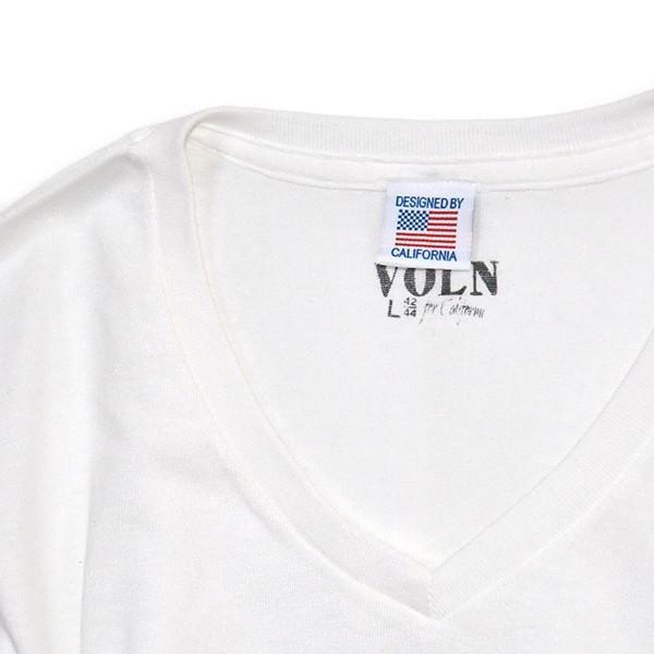 VOLN/RedFin /V Neck Tee /WHITE|standardstore|06