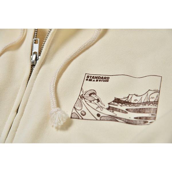 Andy Davis Designs / Full Zip Parka / Natural|standardstore|05