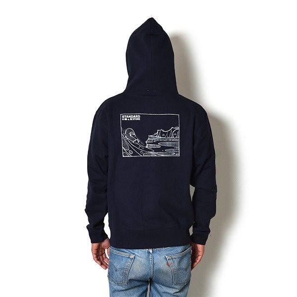 Andy Davis Designs / Full Zip Parka / Navy|standardstore|03