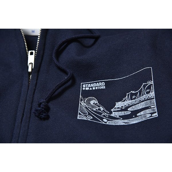 Andy Davis Designs / Full Zip Parka / Navy|standardstore|05