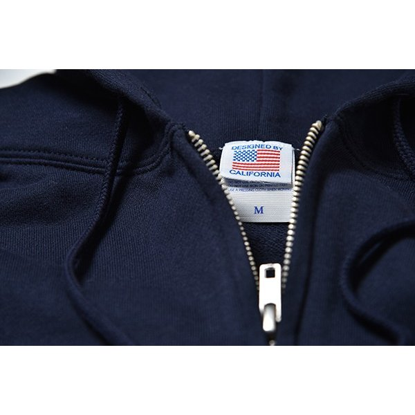 Andy Davis Designs / Full Zip Parka / Navy|standardstore|06