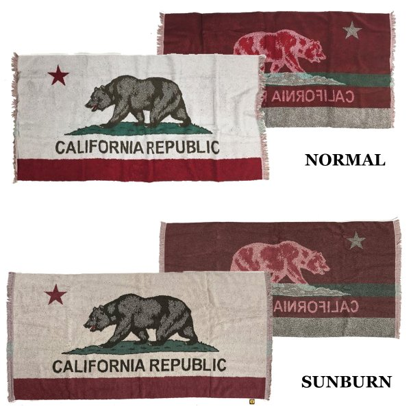 VINTAGE CALIFORNIA  BEACH BLANKET 今治タオル|standardstore|02