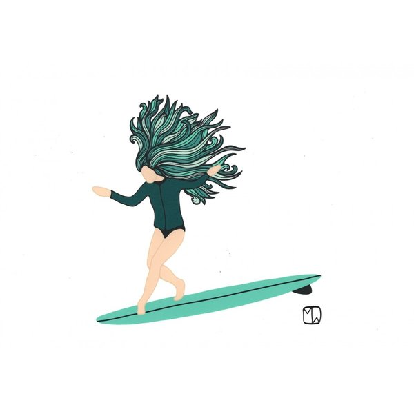 Matthew Wiggleworth / SURF CULTURE ART / Water Girl|standardstore