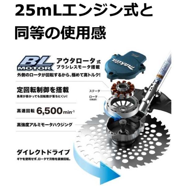 刈払機 マキタ 充電式草刈り機 MUR366DPG2 ループハンドル(6.0Ah) バッテリ・充電器付属|star-fields|02