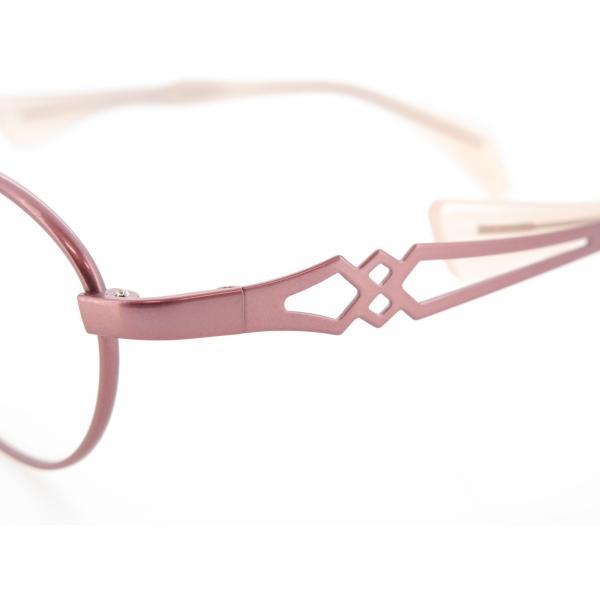 ちょこシー ChocoSee 鼻に跡が付かないメガネ レディース FG24502 PK star-glasses888 04