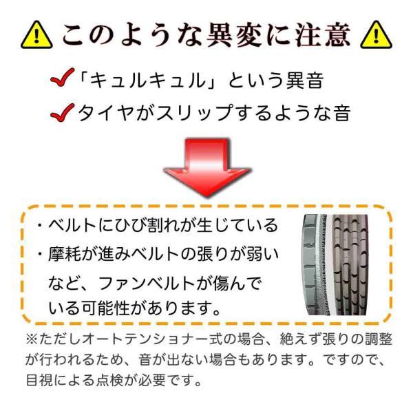ファンベルトセット 日産 モコ 型式MG21S H15.05〜 タクティ 2本セット|star-parts|04