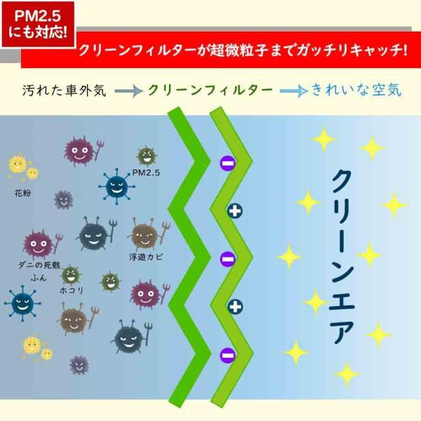 ピットワーク エアコンフィルター クリーンフィルター 日産 デイズルークス B21A用 AY684-NS025-01 花粉対応タイプ PITWORK|star-parts|03