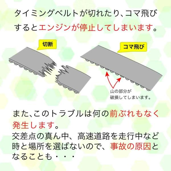 タイミングベルトセット スバル レガシィ BP5 BL5 2.0i系 H15.01〜H21.02用 6点セット star-parts 02