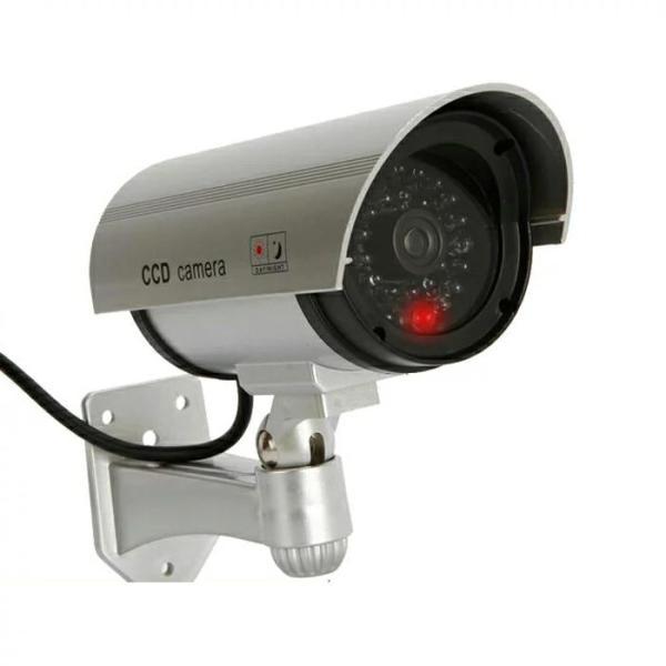 ダミー防犯カメラ 屋外用 防水 防犯カメラ ダミー 簡単設置 本物そっくり LED点滅 監視カメラ 配線不要 屋内|star-stores