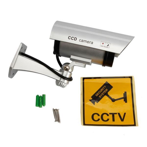ダミー防犯カメラ 屋外用 防水 防犯カメラ ダミー 簡単設置 本物そっくり LED点滅 監視カメラ 配線不要 屋内|star-stores|06